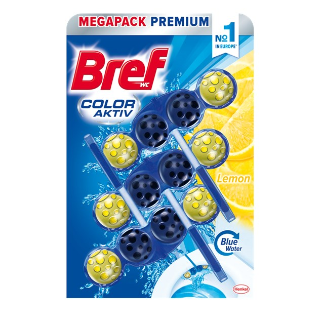 Bref color aktiv lemon 3x50g
