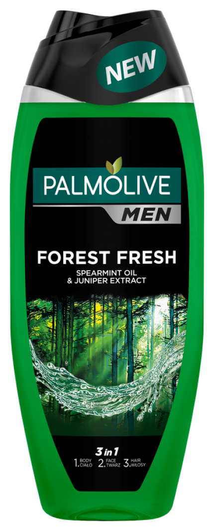 Palmolive Men sprchový gél forest fresh 500ml