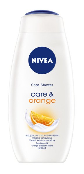 Nivea sprchový gél care & orange 500ml