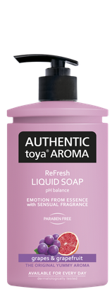 AUTHENTIC Toya AROMA  tekuté mydlo hrozno & grapefruit 400ml