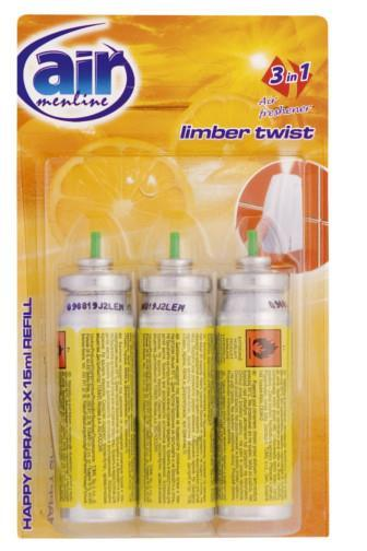 Air Menline Limber Twist 3x15ml náhrada