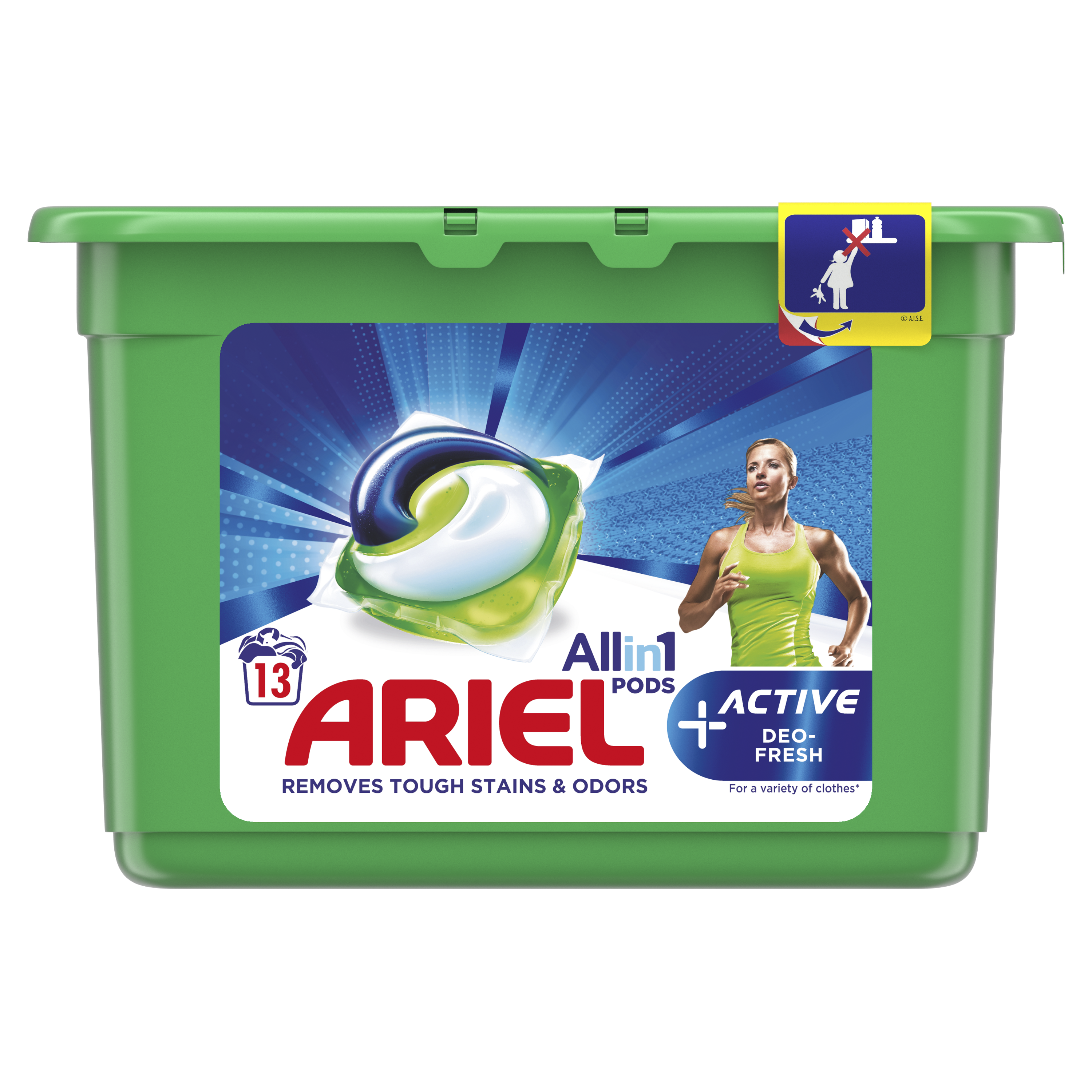 Ariel Active Deo Fresh kapsuly 13ks