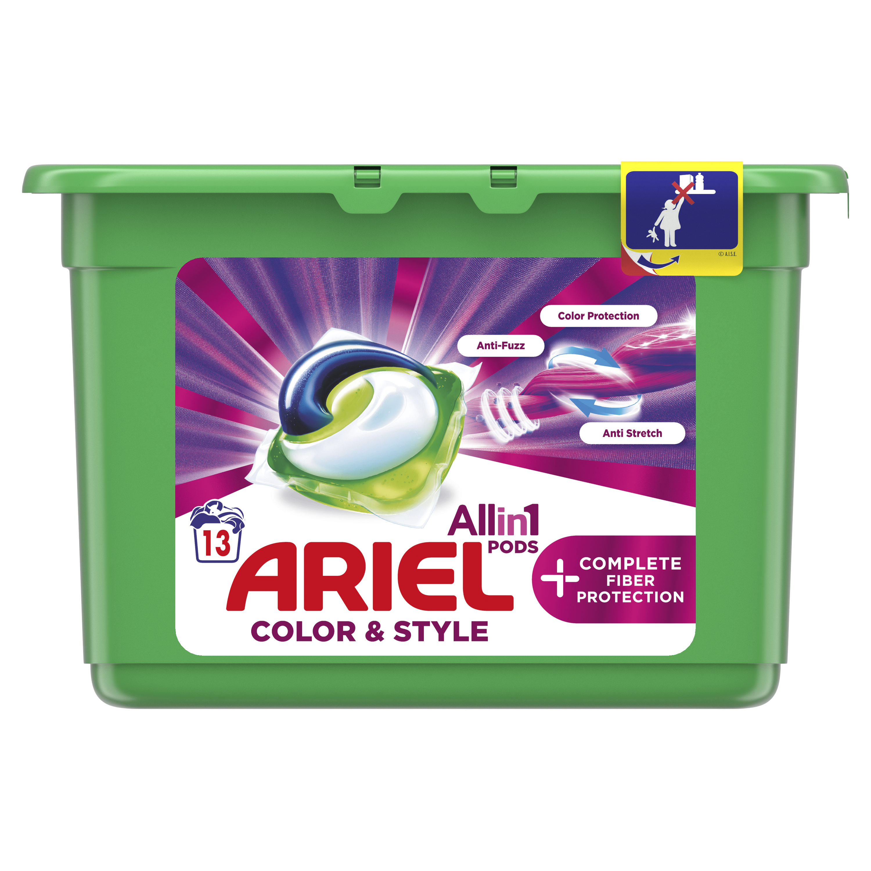 Ariel Color & Style kapsuly 13ks