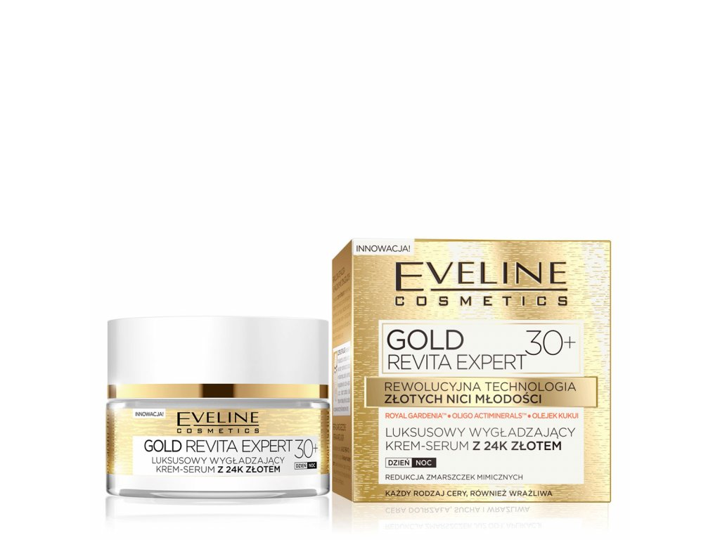 Eveline Gold Revita Expert krém 30+ 50ml