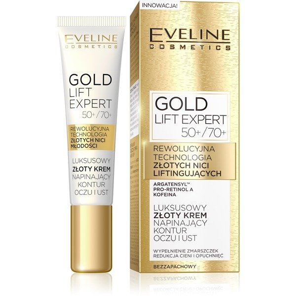 Eveline Gold Lift Expert krém pod oči 50+/70+ 15ml
