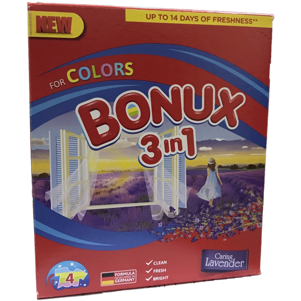 Bonux levanduľa color 300g/4PD