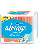 ALWAYS ULTRA 10KS NORMAL PLUS SENSITIVE