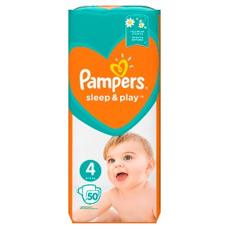 PAMPERS SLEEP&PLAY 4 MAXI 9-14KG 50KS