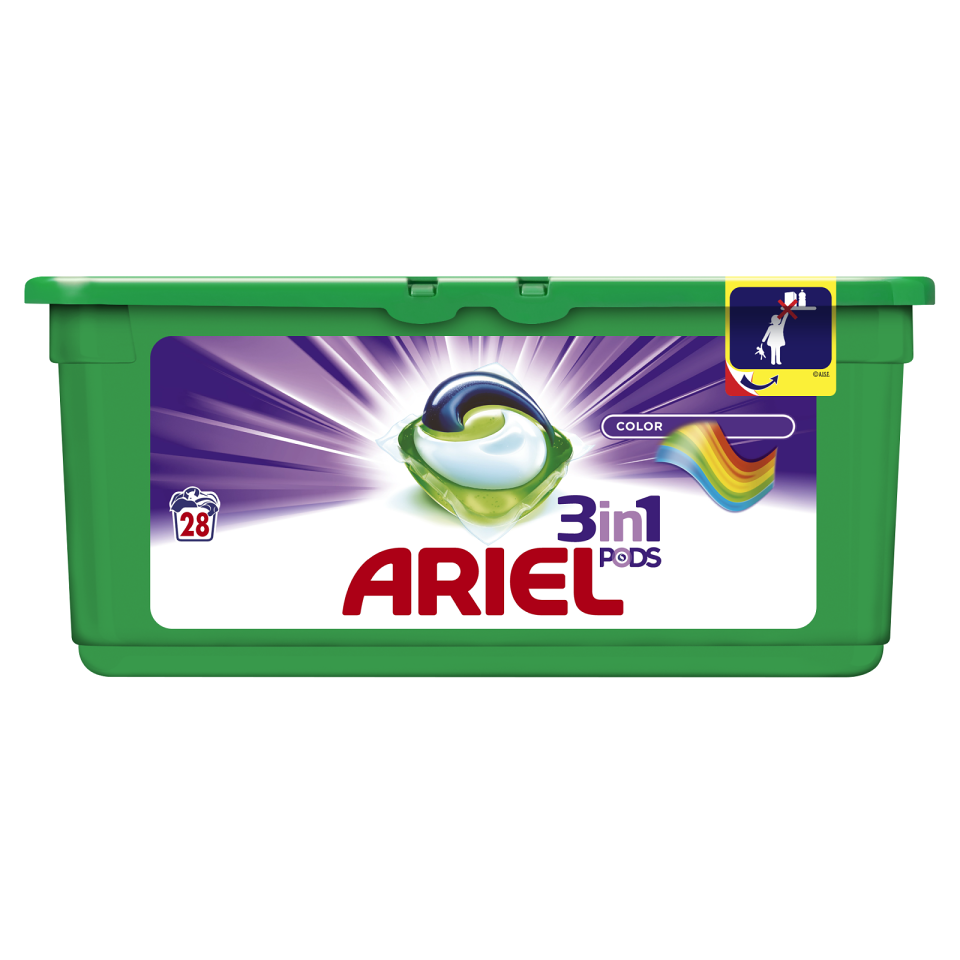 Ariel Color&Syle Power Capsules 28ks