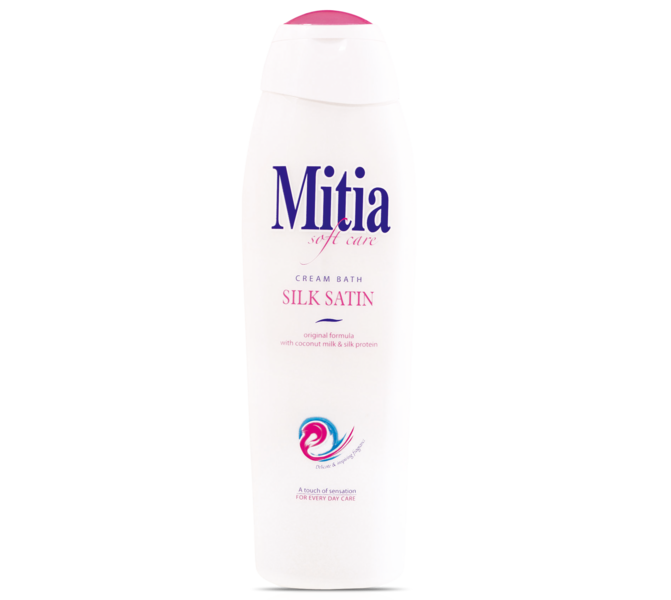MITIA 750ML PENA DO KÚPEĽA SILK SATIN