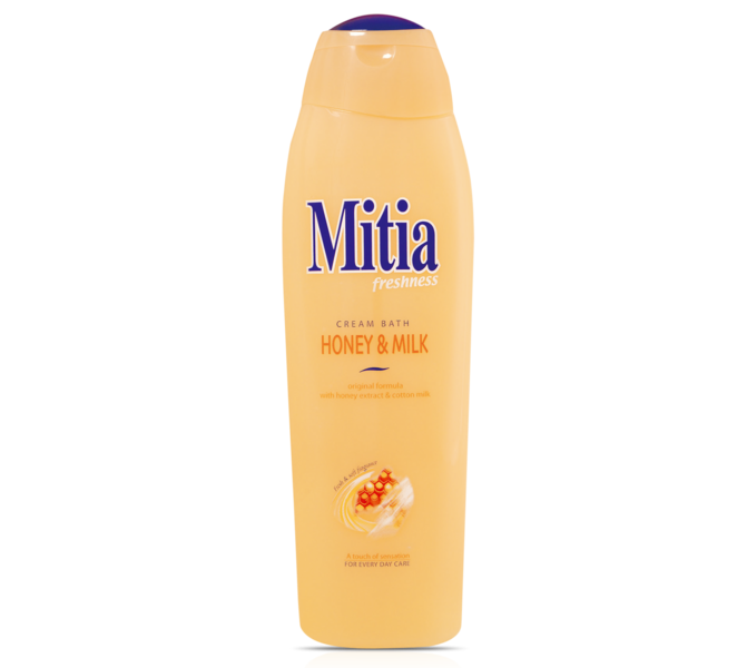 MITIA 750ML PENA DO KÚPEĽA HONEY & MILK