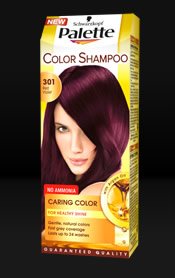 PALETTE COLOR SHAMPOO 301 BORDÓ