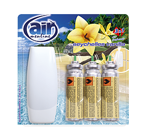 AIR MENLINE HAPPY SPRAY SEYCHELLES VANILLA 3x15ML / 239