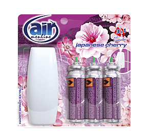 AIR MENLINE HAPPY SPRAY JAPANESE CHERRY 3x15ML / 246