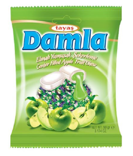 Damla karamelky Apple fruit 90G