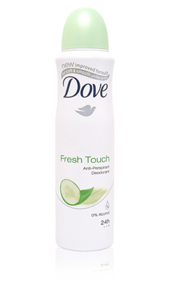 DOVE ANTIPERSPIRANT SPREJ GO FRESH CUCUMBER&GREEN TEA 150ML