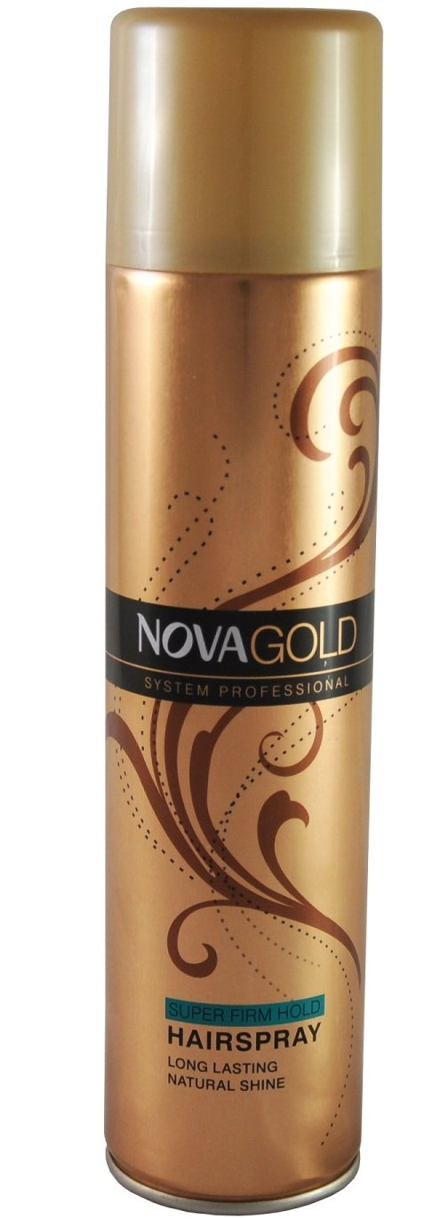 NOVA GOLD LAK NA VLASY SUPER FIRM HOLD 400ML