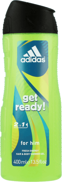 ADIDAS SPRCHOVÝ GÉL GET READY 400ML MEN / 074